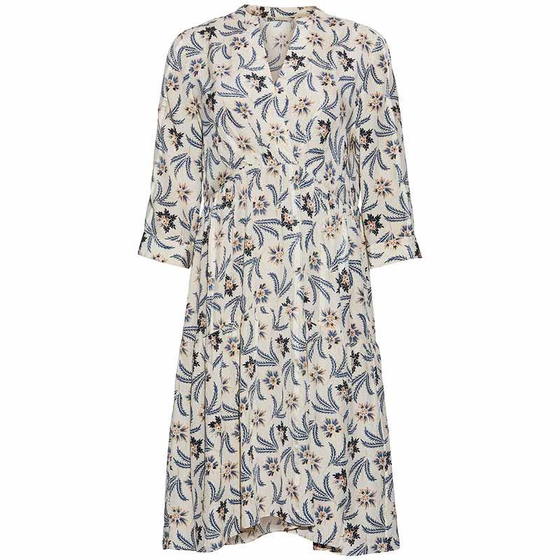 PBO Kjole, Jara, Angora Print, pbo kjoler kjole til bryllup kjole til fest bryllupsgæst kjole til bryllupsgæst