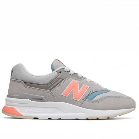 New Balance Sneakers, 997, Rain Cloud/Wax Blue, New Balance sneakers dame, New Balance 997