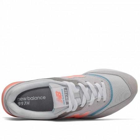 New Balance Sneakers, 997, Rain Cloud/Wax Blue, New Balance sneakers dame, New Balance 997 - Indvendig