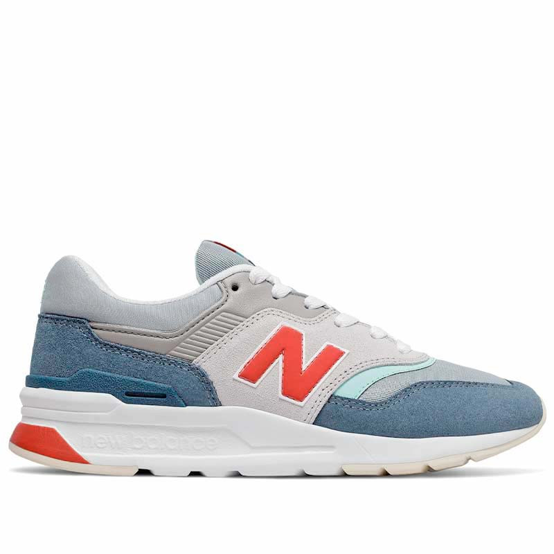 New Balance Sneakers, CW997HAR, Rain Cloud/Wax Blue, New Balance sneakers dame, New Balance 997