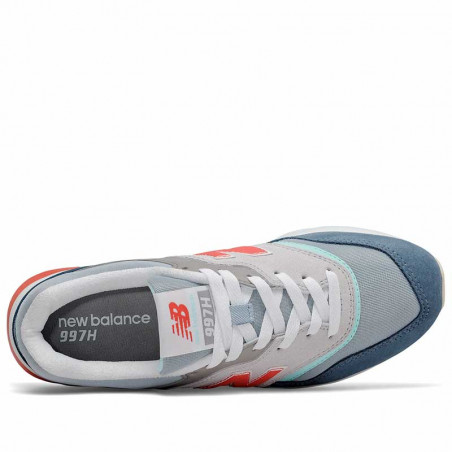 New Balance Sneakers, CW997HAR, Rain Cloud/Wax Blue, New Balance sneakers dame, New Balance 997 - Detalje