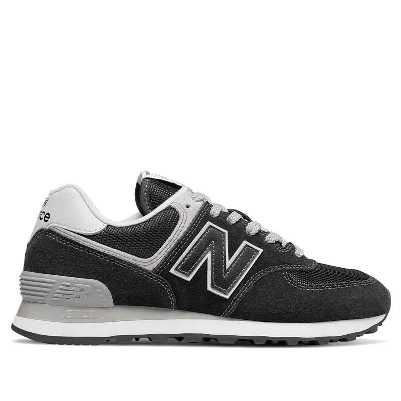 New Balance Sneakers dame, 574, Core, Black/White