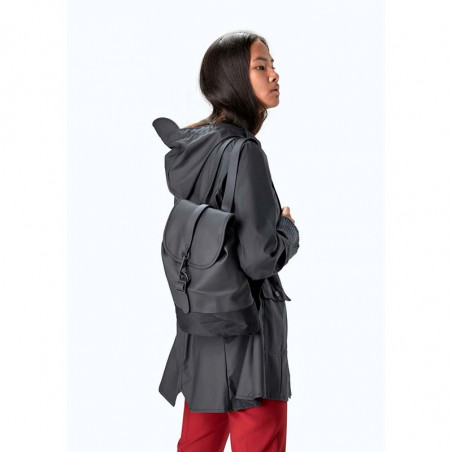 Rains Rygsæk, Drawstring Backpack, Black rains taske model