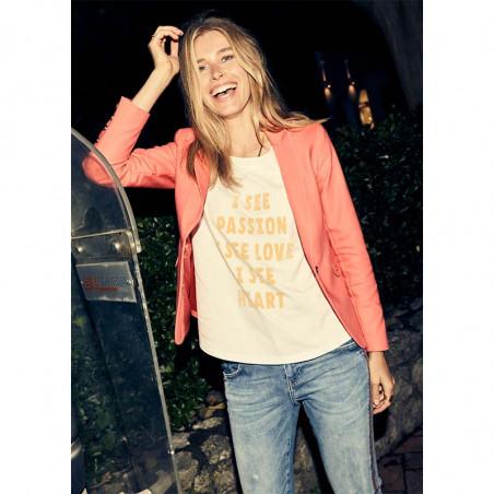 Mos Mosh T-shirt, Isee Flock, Safari model