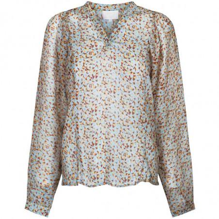 Minus Bluse, Inaya, Flower Sky minus skjorte minus top