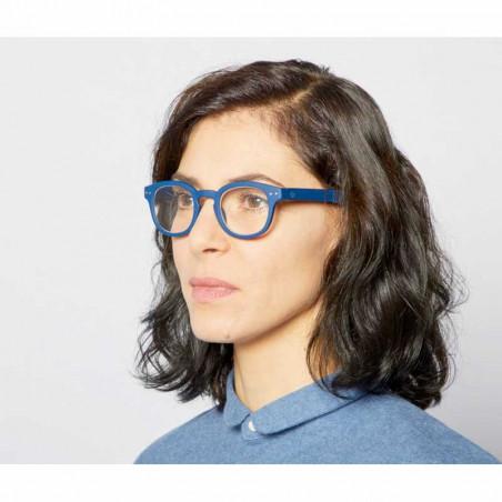 Izipizi Briller, C Reading, Navy Blue Izipizi læsebriller styrke dame
