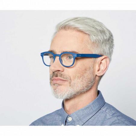 Izipizi Briller, C Reading, Navy Blue Izipizi læsebriller styrke mand