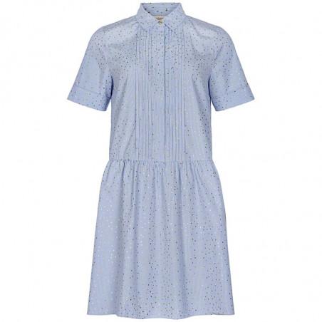 Nümph Kjole, Nualafia, Blue Stripe, Numph kjole, Numph tøj