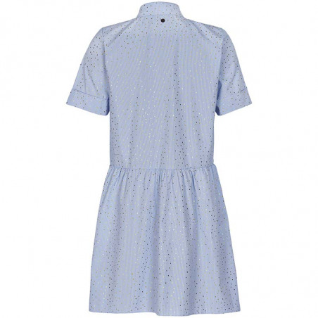 Nümph Kjole, Nualafia, Blue Stripe, Numph kjole, Numph tøj - Bagside