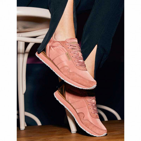 Woden Sneakers dame, Nora II, Canyon Rose sneakers woden sko dame model