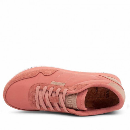 Woden Sneakers dame, Nora II, Canyon Rose sneakers woden sko dame top