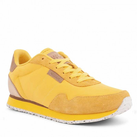 Woden Sneakers dame, Nora II, Super Lemon sneakers woden sko dame side