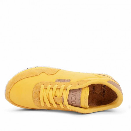 Woden Sneakers dame, Nora II, Super Lemon sneakers woden sko dame top