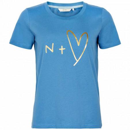 Nümph T-shirt, Nuashlyn, P. Coast numph t-shirt med print