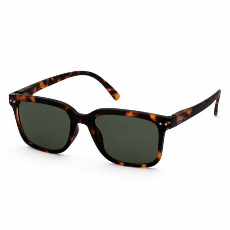 Izipizi Solbriller dame, L Sun, Tortoise izipizi briller side
