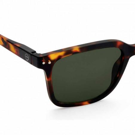 Izipizi Solbriller dame, L Sun, Tortoise izipizi briller detalje