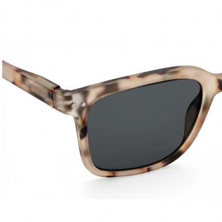 Izipizi Solbriller dame, L Sun, Light Tortoise izipizi briller detalje