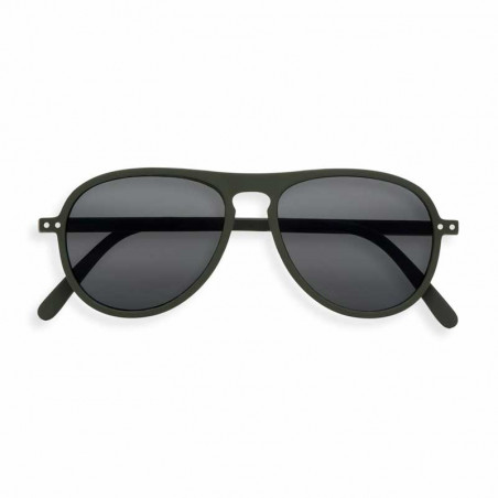 Izipizi Solbriller dame, I Sun, Khaki Green Izipizi briller dame