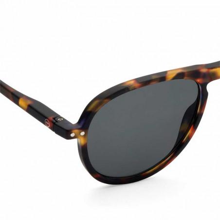 Izipizi Solbriller dame, I Sun, tortoise Izipizi briller dame detalje