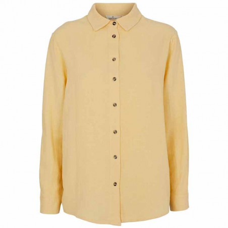 Basic Apparel Skjorte, Trine, Straw
