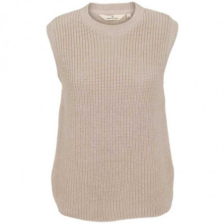 Basic Apparel Vest, Sweety, Sand, strikket vest