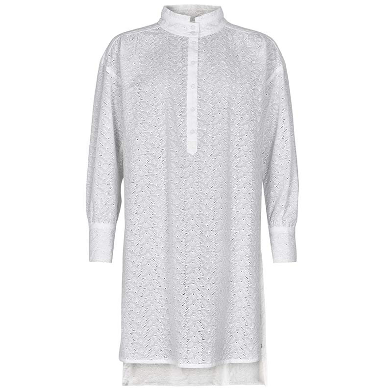 Nümph Skjorte, Nuaverie, Bright White, numph tøj, numph bluse