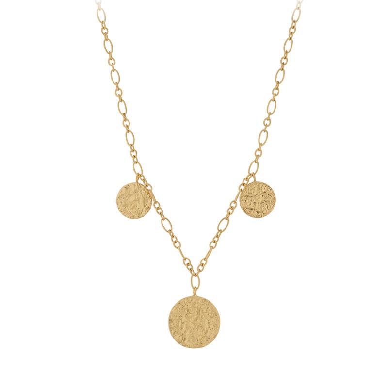 pernille corydon – Pernille corydon halskæde, new moon, guld fra superlove