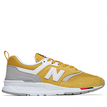 New Balance Sneakers, 997, Yellow/Red,  New Balance 997 new balance sko new balance dame