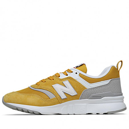 New Balance Sneakers, 997, Yellow/Red,  New Balance 997 new balance sko new balance dame - Fra siden