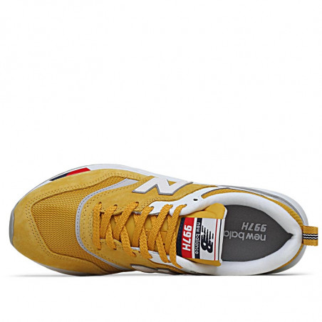 New Balance Sneakers, 997, Yellow/Red,  New Balance 997 new balance sko new balance dame - Indvendig