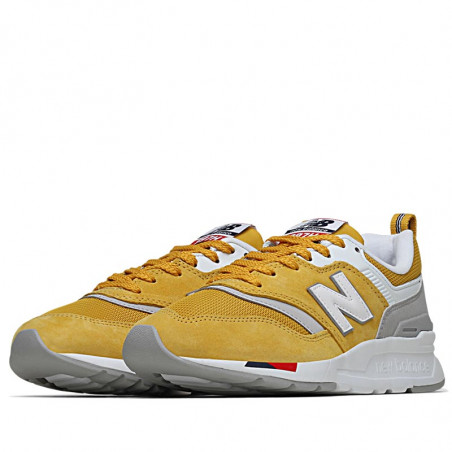 New Balance Sneakers, 997, Yellow/Red,  New Balance 997 new balance sko new balance dame - Par