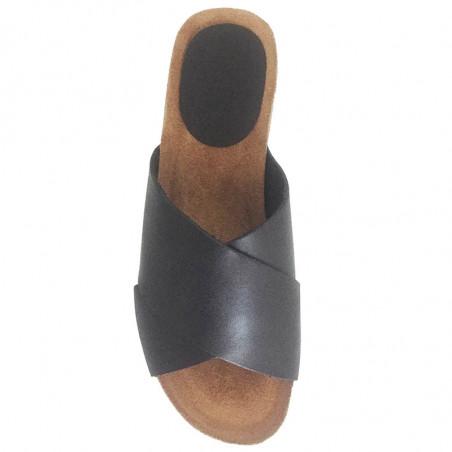 LBDK Mavi Sandaler med kilehæl i sort