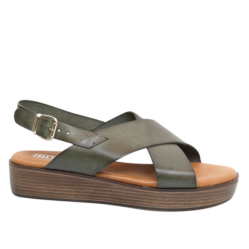 lbdk sko Lbdk sandaler, dune, vaqueta musgo fra superlove
