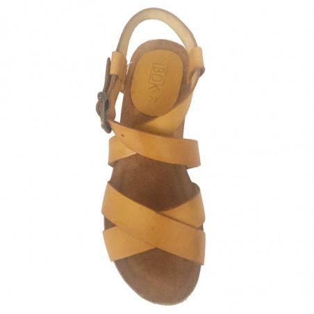 LBDK Mavi Sandaler med kydsremme i Mostaza gul