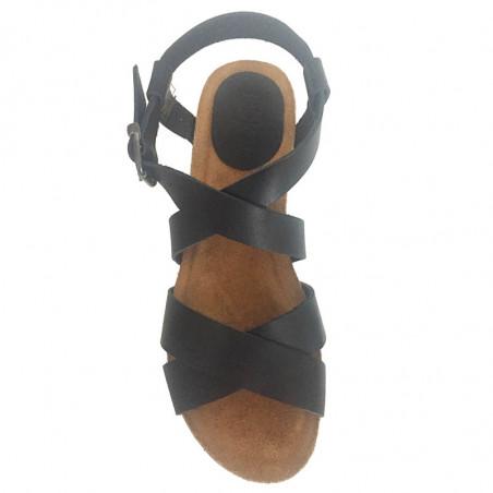 LBDK Mavi Sandaler med krydsremme, Black
