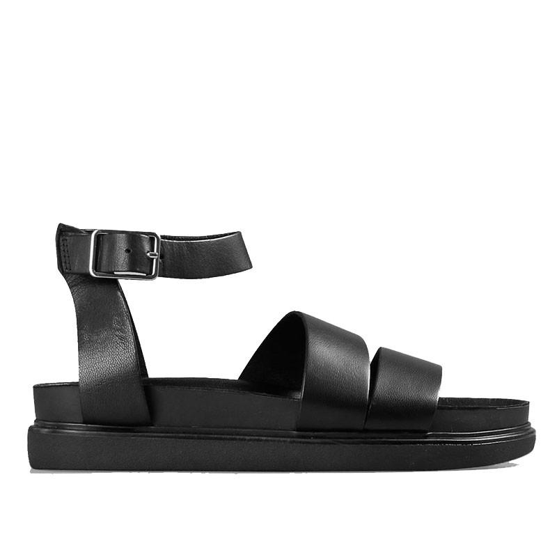 vagabond – Vagabond sandaler, erin m/ankelrem, black fra superlove