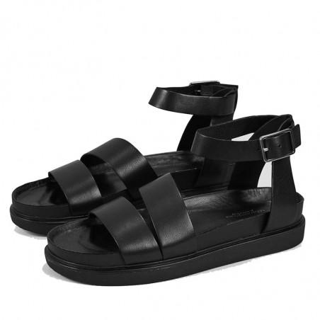 Vagabond Sandaler, Erin M/Ankelrem, Black, Vagabond sko, Vagabond shoes  . FRa siden