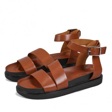 Vagabond Sandaler, Erin M/Ankelrem, Cognac, Vagabond sko, Vagabond Damesko - Fra siden