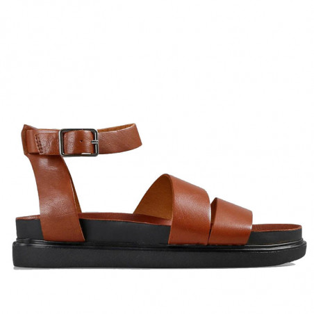 Vagabond Sandaler, Erin M/Ankelrem, Cognac, Vagabond sko, Vagabond Damesko