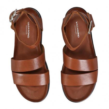 Vagabond Sandaler, Erin M/Ankelrem, Cognac, Vagabond sko, Vagabond Damesko - Oppe