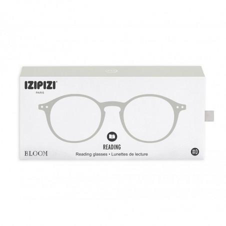 Izipizi Briller, D Reading, Slate Blue, læsebriller dame billige læsebriller - Æske