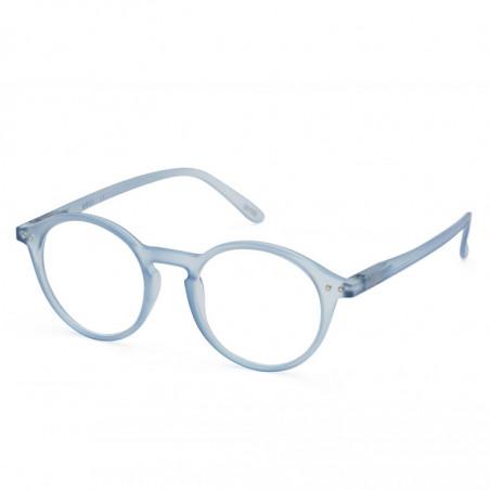 Izipizi Briller, D Reading, Aery Blue, læsebriller dame billige læsebriller - Fra siden