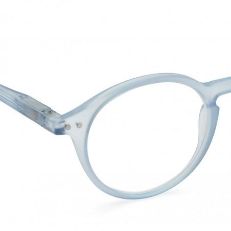 Izipizi Briller, D Reading, Aery Blue, læsebriller dame billige læsebriller - Tæt på