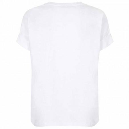 Mos Mosh T-shirt, Yara Anniversary, White With  Gold - Bagside