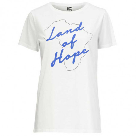 Modström T-shirt, Tabia Charitee, White, Modström T shirt, Modstrøm T-shirt, Modström charitee