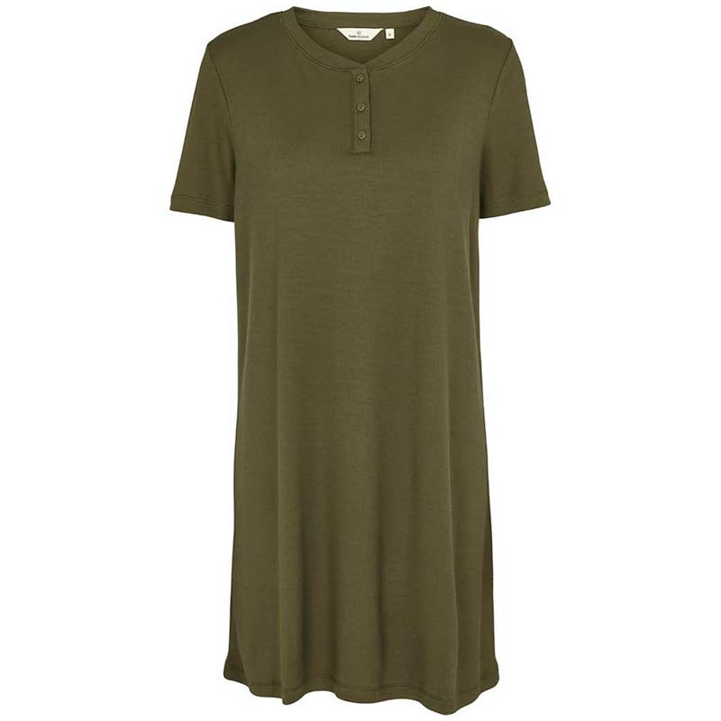 Image of Basic Apparel Kjole, Laila, Army