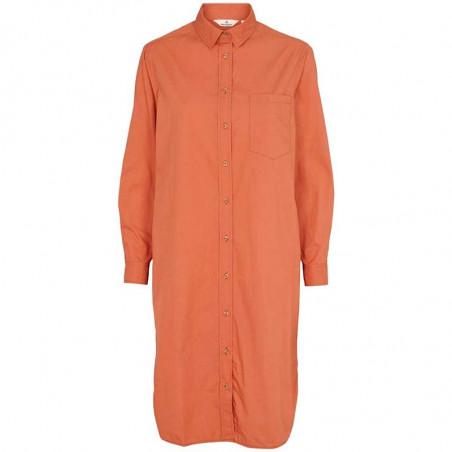 Basic Apparel Kjole, Vilde, Ginger Spice Basic Apparel skjorte