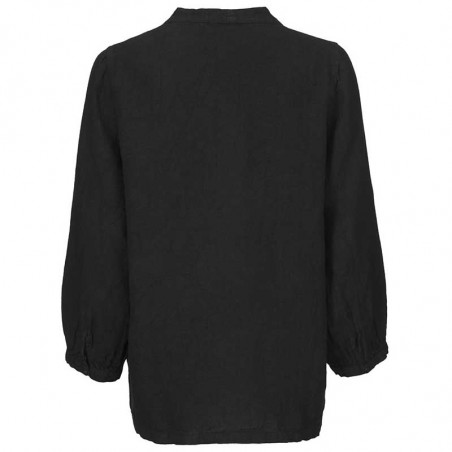 Modström Bluse, Cosmo, Black, Modstrøm tøj, bluser til kvinder - Bagside