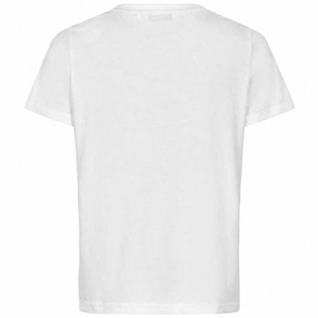 Nümph T-shirt, Nubryce, B. White Fruit numph t-shirt med print bagside