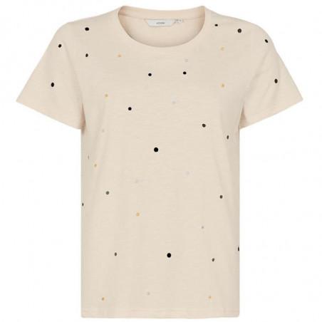 Nümph T-shirt, Nubrinkley, Ecru